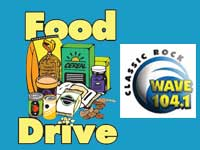 Help your community by supporting SxSE and the WAVE104 Marathon for Meals food drive